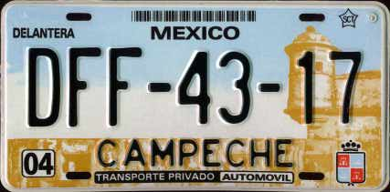 Campeche undated passenger issue