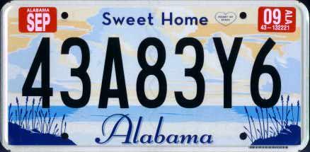 Get New Car Registration Tuscaloosa
