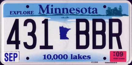 MN 09 #431-BBR