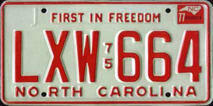 NC 77 #LXW-664