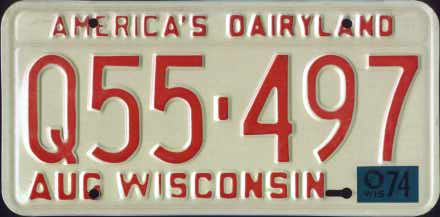 Wisconsin 1974 passenger issue